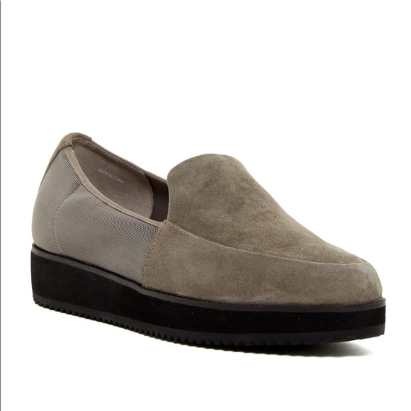 Eileen Fisher Dell Suede Loafer 9